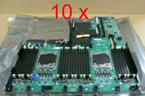 10 x NEW Dell PowerEdge R730 R730xd Server System Motherboard Mobo 4N3DF